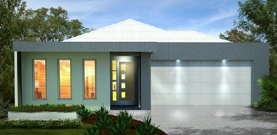 Fachadas de casas modernas de un piso buscar con google for Viviendas minimalistas pequenas