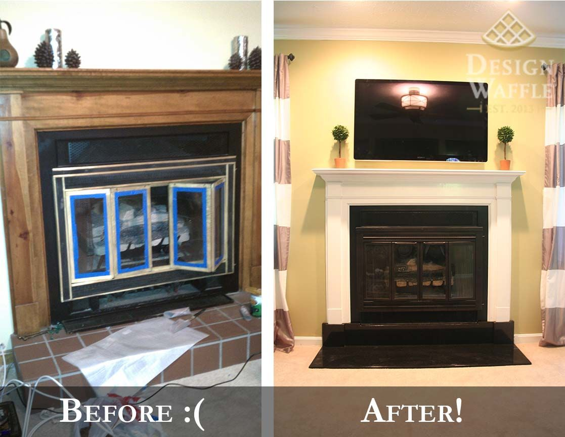 Fireplace Makeover Part 2 The Hearth Fireplace Hearth
