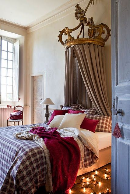 the ciel de lit! | INTERIORS | Bedroom | Pinterest | Plaid, Letti ...