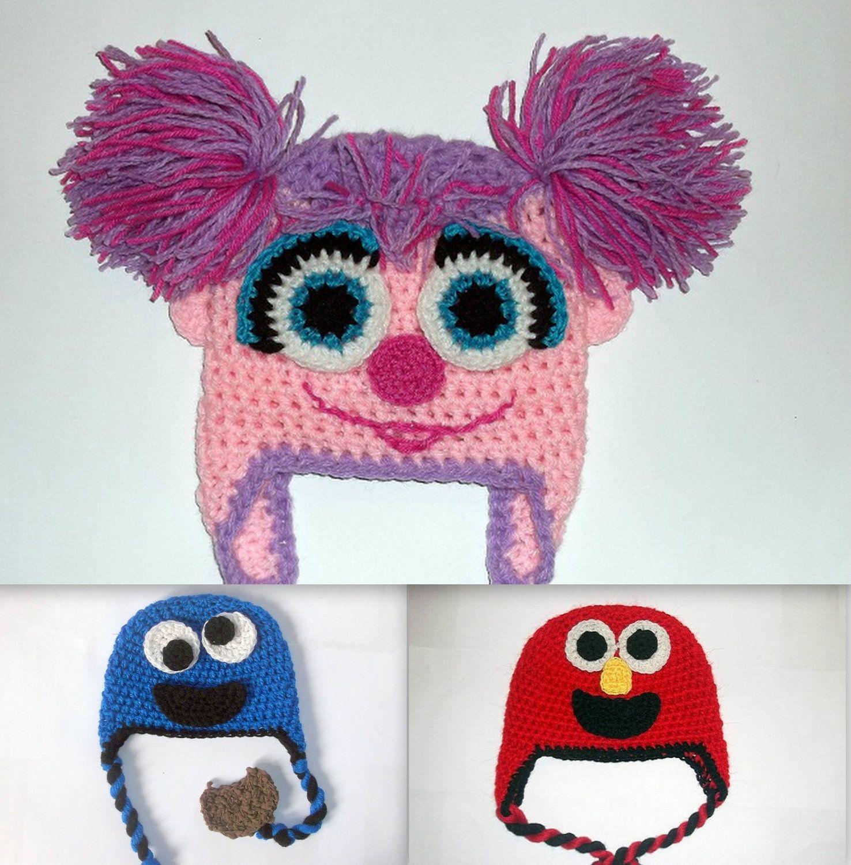 Abby Cadabby Hat CROCHET PATTERN Cookie Monster by PatternStudio1 ...