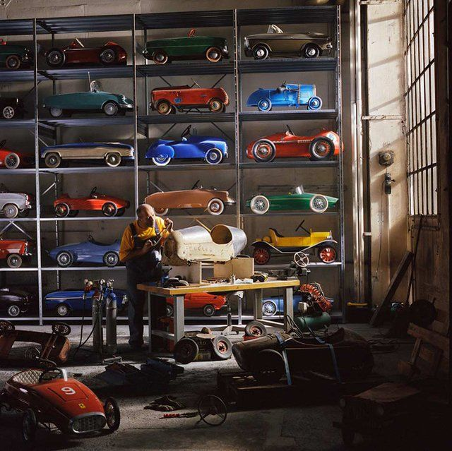 Pedal cars we have a few of these in the garage for the