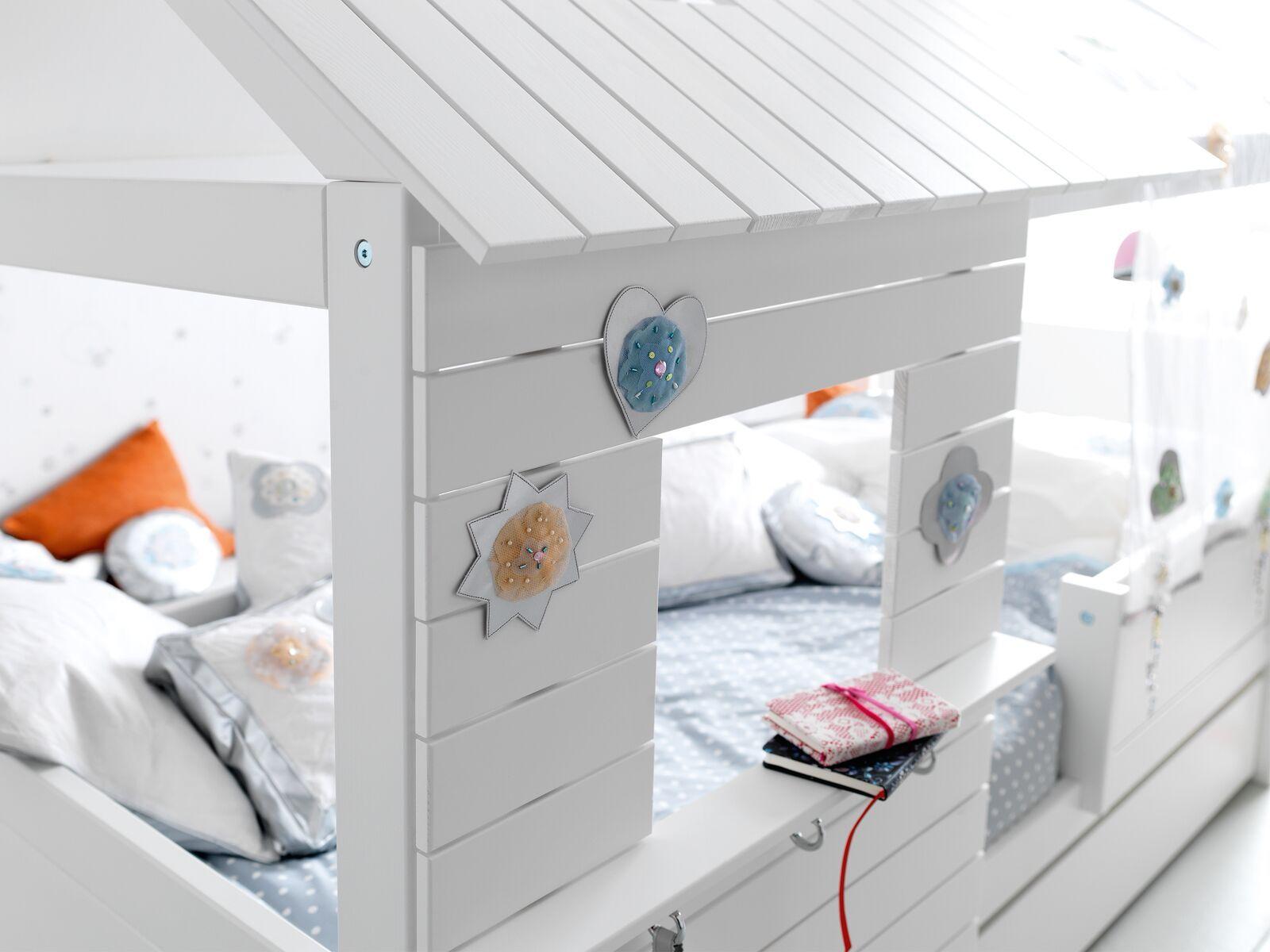 Hutbed Silversparkle Laag Wit Met Afbeeldingen