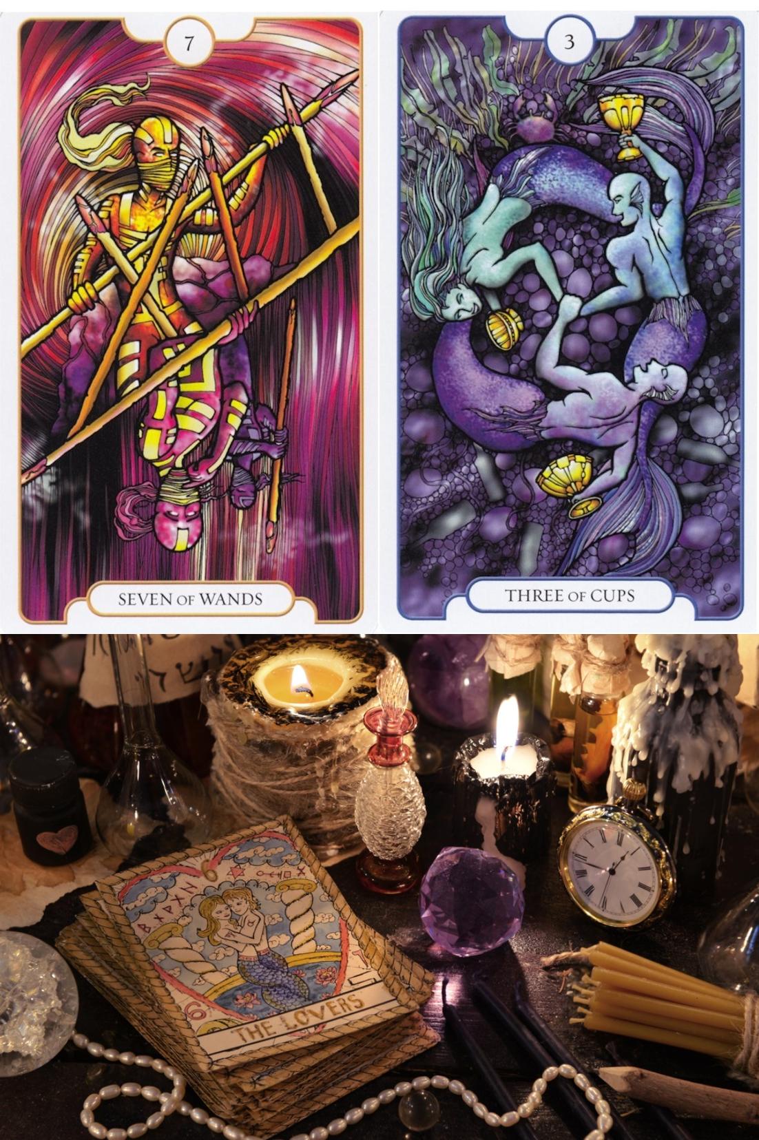 Latin Tarot Card Readings: Free Latin Tarot