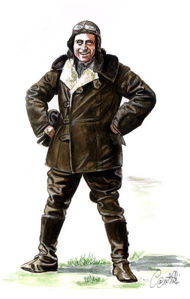 Ufficiale Pilota in tenuta d'alta quota - Italian Royal Air Force WW1, pin by Paolo Marzioli