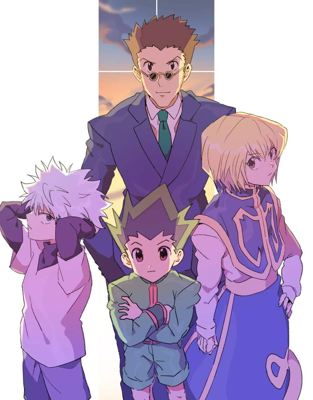 瀬上🍞 ハンターオンリー C04 segami_poyo (With images) Hunter x