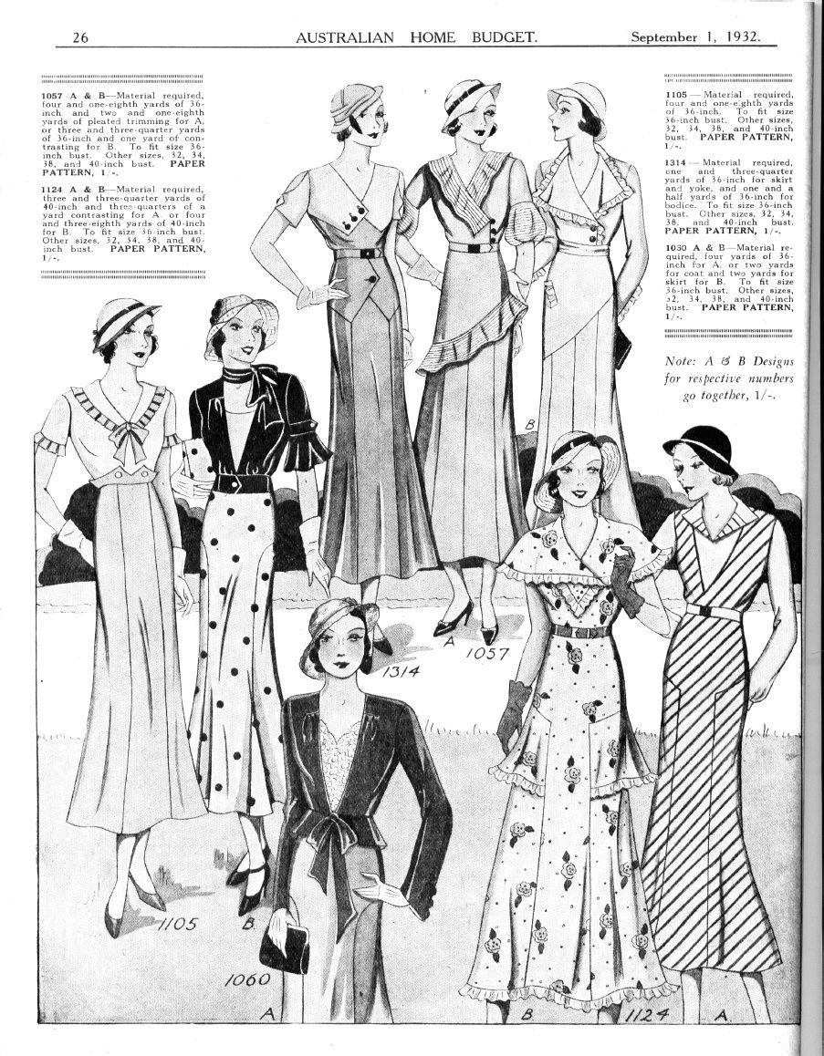 1930s Australia | Modes Royale | Pinterest