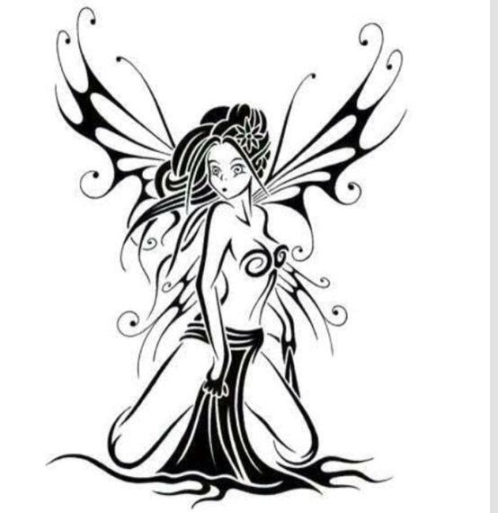 F e tatouage tatouage tatouage tatouage f e et dessin - Dessin elfes et fees ...