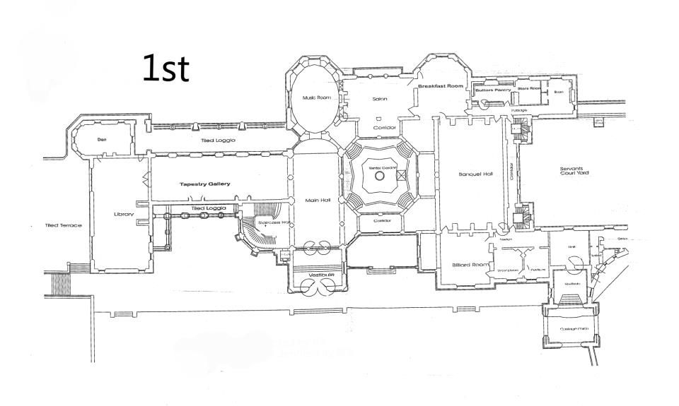 Biltmore House Floor Plan Pictures