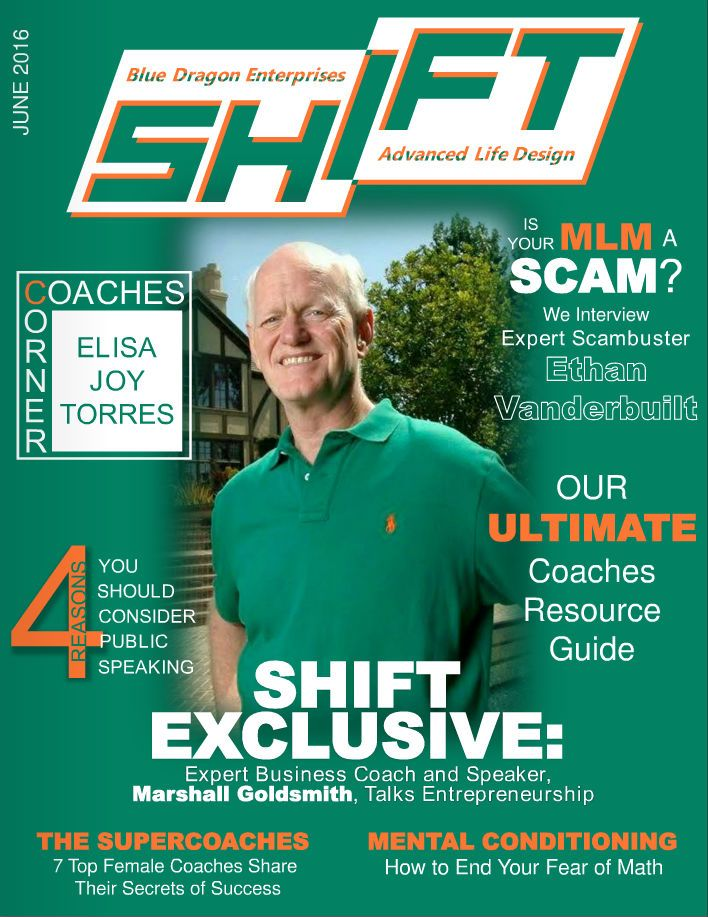 Shift Magazine Interview - What Is A Good MLM?  In an interview with Shift Magazine, I answered some of the difficult questions people want to know when looking into joining a MLM business opportunity.  Here are some of the questions I answered:  How did you get started as a scam buster?  What are the criteria for a good MLM?  http://ethanvanderbuilt.com/2016/06/10/shift-magazine-interview-good-mlm/