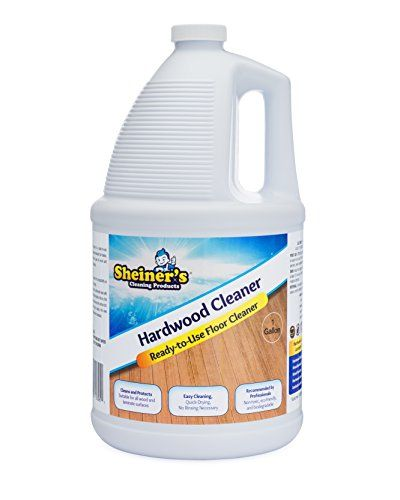 Sheiners Hardwood Floor Cleaner For Wood And Laminate Floors And Surfaces 1 Gallon Refill Floor Cleaner Hardwood Floor Cleaner Clean Laminate