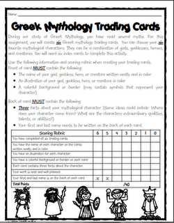 hercules greek mythology greek mythology bronze hercules farnese greek mythology trading cards project after reading myths this could be adapted for other