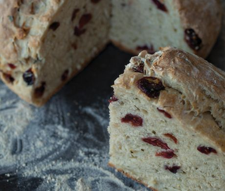 Find the recipe for Rosemary and Cranberry Soda Bread and other cranberry recipes at Epicurious.com
