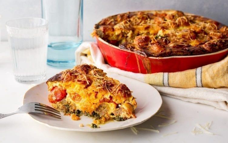 Make-Ahead Egg & Sausage Casserole | MyFitnessPal