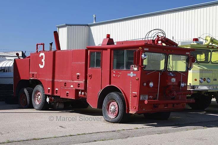 Crash tender at missoula airport fire trucks fire