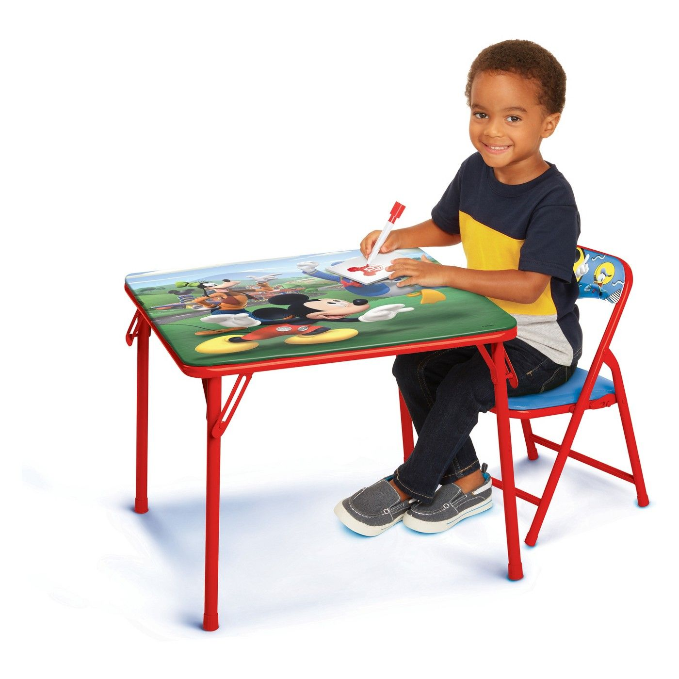 Mickey Mouse Jr Activity Table Red Jr Mouse Mickey