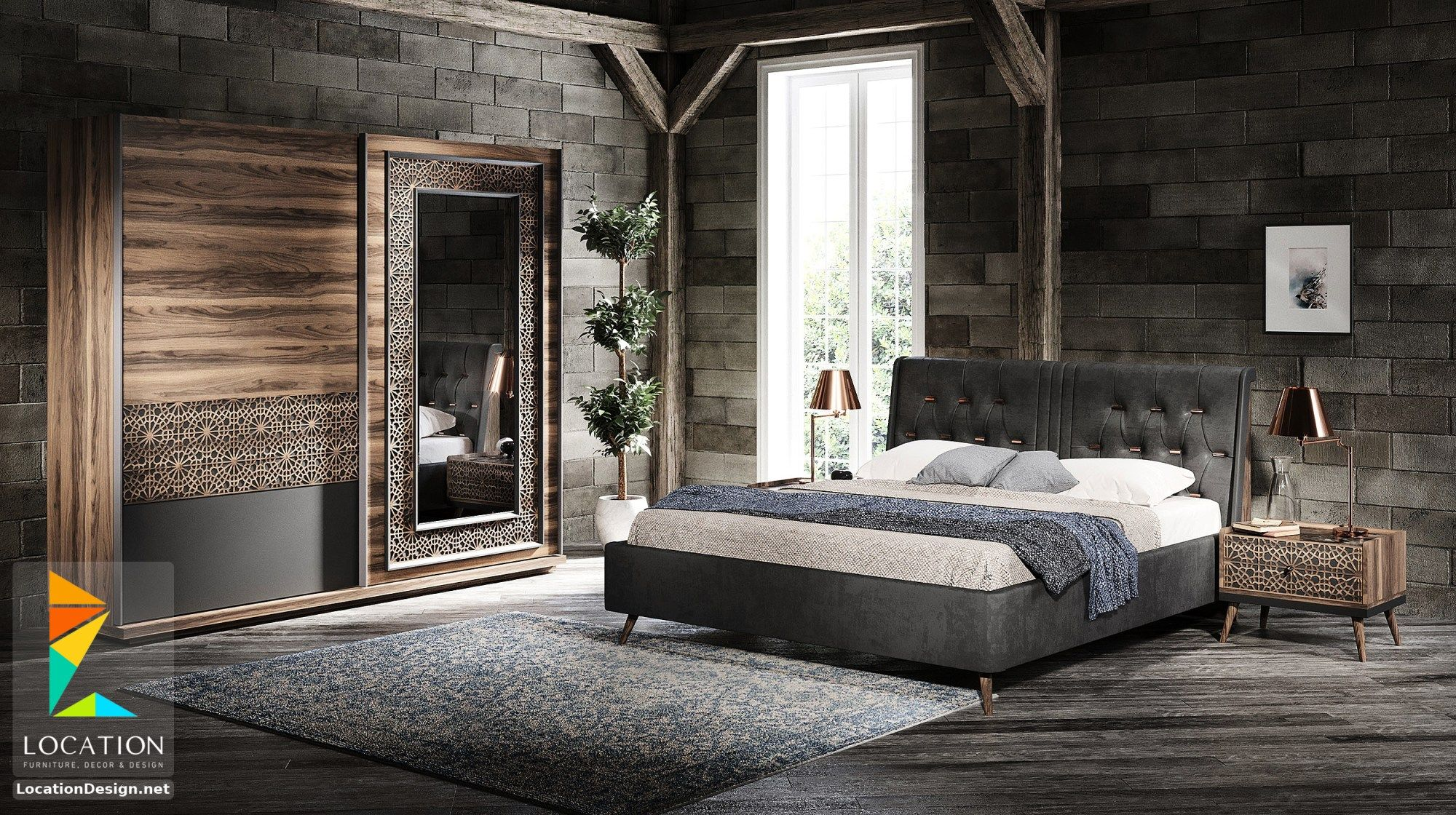 احدث كتالوج صور غرف نوم 2019 2020 Brown Furniture Bedroom Kids Bedroom Furniture Sets Furniture