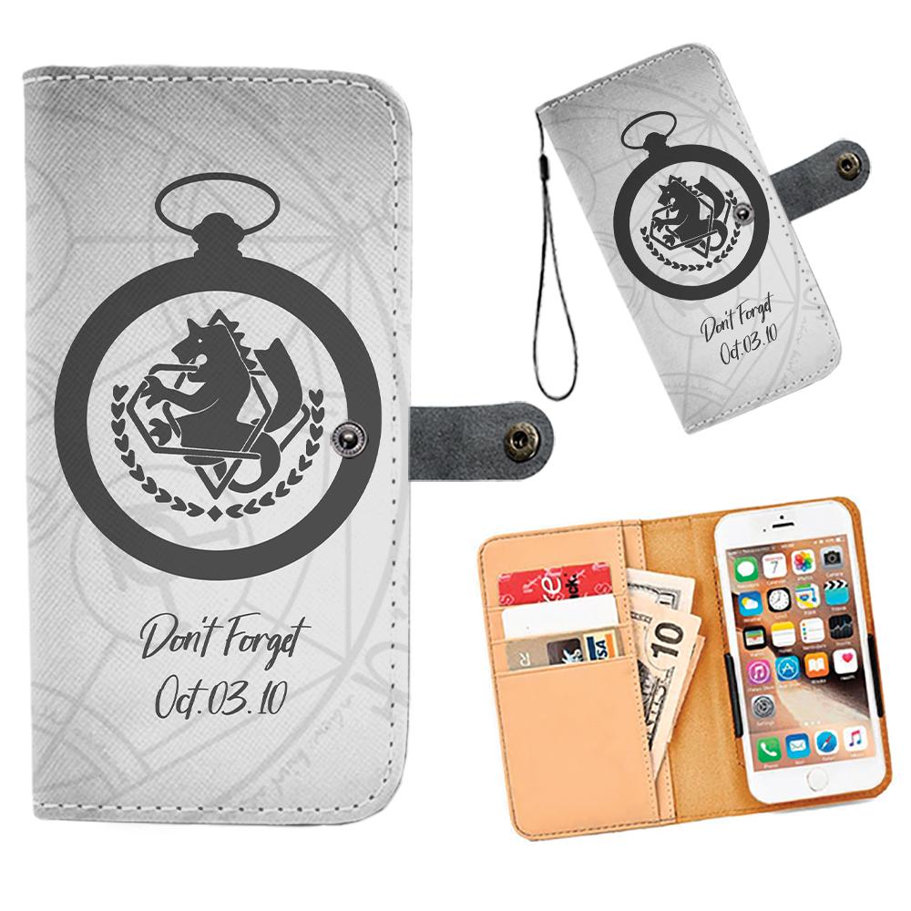 Don't Foget Fullmetal Alchemist | Wallet phone case ...