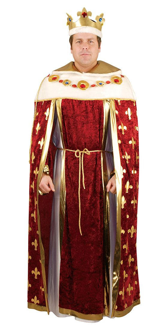 Adult King Costume - Medieval Costumes | kings and queens ...
