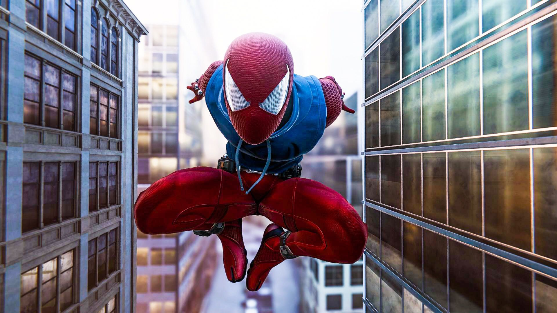 The Scarlet Spider Spiderman Spidermanps4 Spider Man Scarlet
