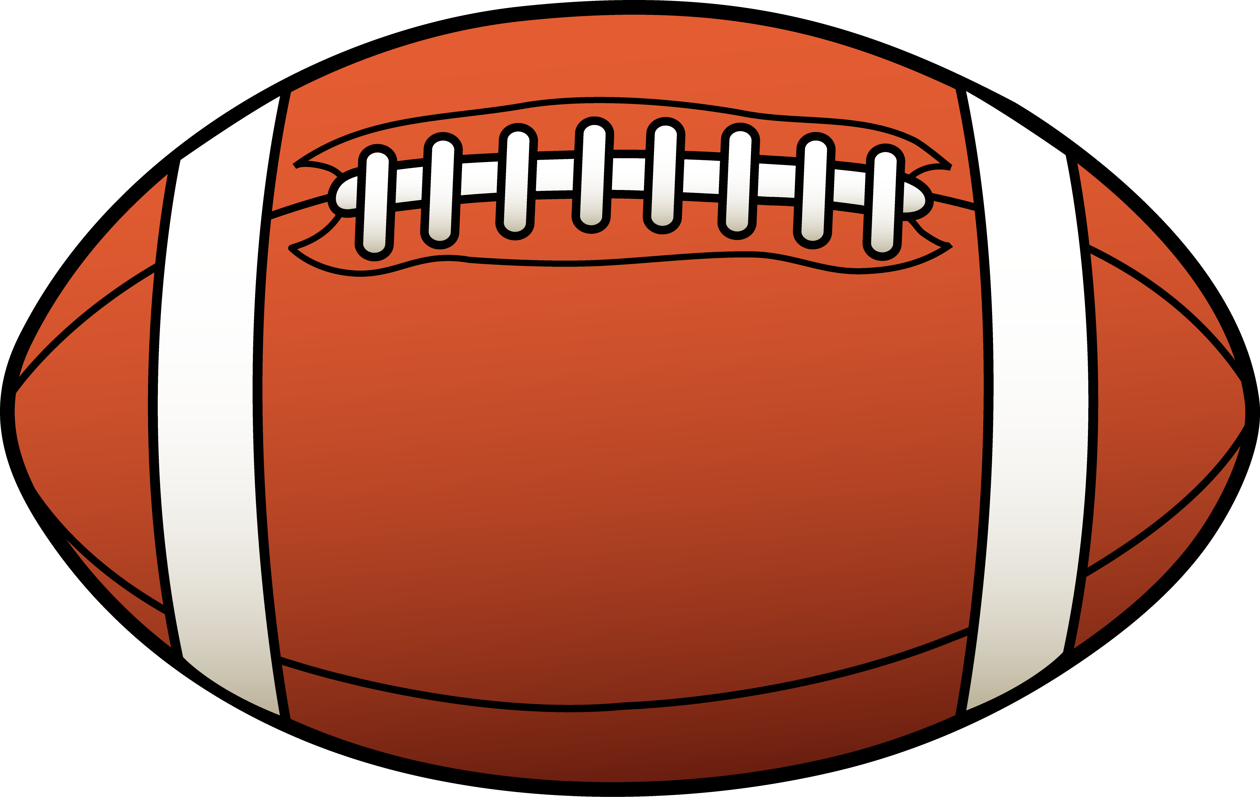 clipart football - free