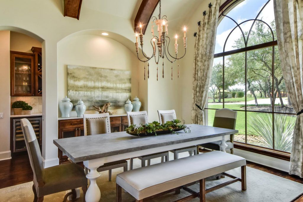 Tuscan Dining Rooms, Dining Room Sets, Zen Gardens, Wooden Tables, Before  After, Design Projects, Benches, Room Ideas