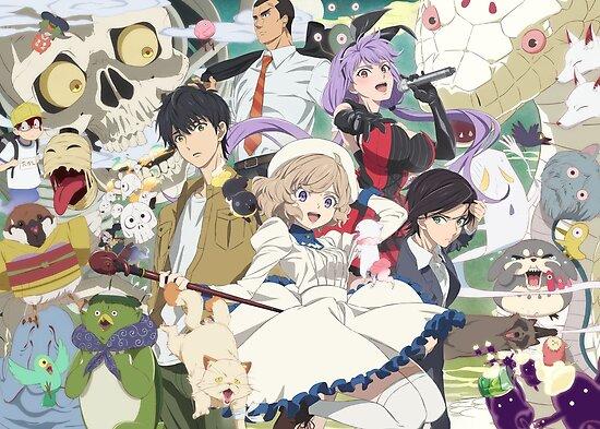 In/Spectre / Kyokou Suiri Kotoko / Kuro Poster Anime