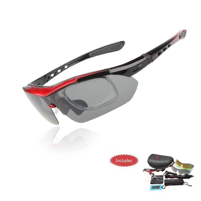 9f666561096fe Professional Polarized Cycling Glasses Bike Casual Goggles Outdoor Sports  Bicycle Sunglasses UV 400 With 5 Lens TR90 5 color