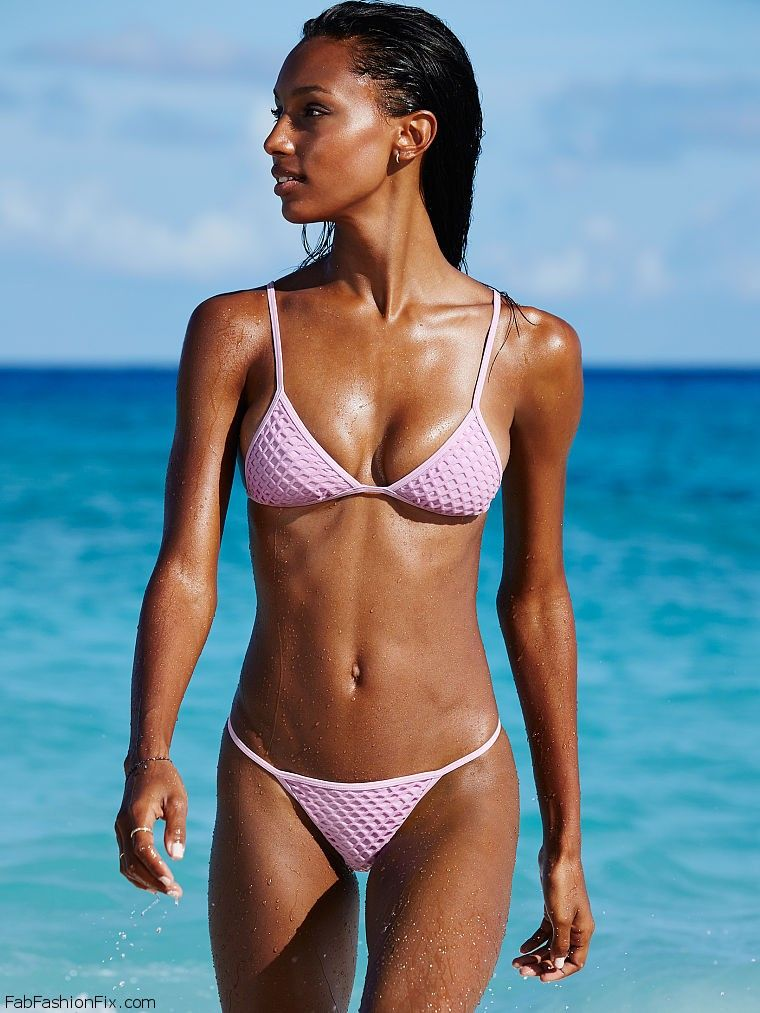Jasmine Tookes flaunts her toned physique for Victoria's ...