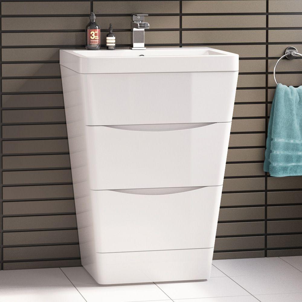 The UK Bathrooms Pinterest Drawer unit Vanity units and Basin