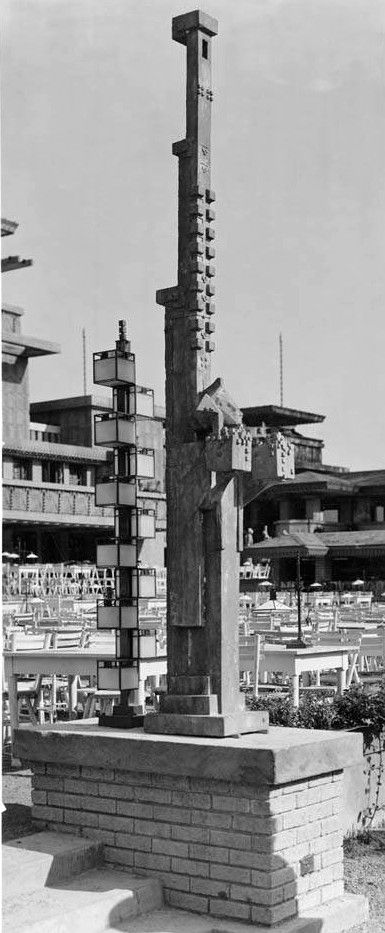 Midway Gardens Chicago Illinois 1914 Frank Lloyd Wright Demolished In 1923