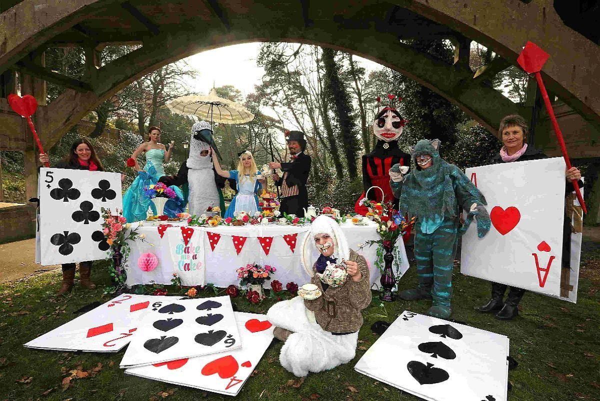 A treasure hunt and mad hatters tea party have an easter a treasure hunt and mad hatters tea party have an easter adventure in boscombe negle Image collections