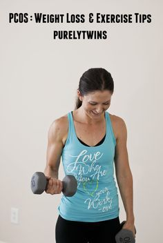 PCOS tips for weight loss and exercise #health #pcos #hormones sharing my journey via purelytwins.com