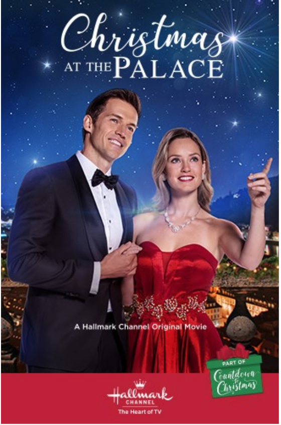 Christmas at the Palace (2018) with Merritt Patterson & Andrew Cooper   Christmas movies ...