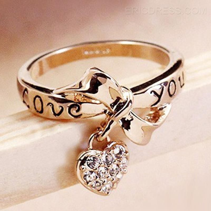 LOVE YOU Golden Bowkont Special Ring | Ring, Jewlery and Jewel