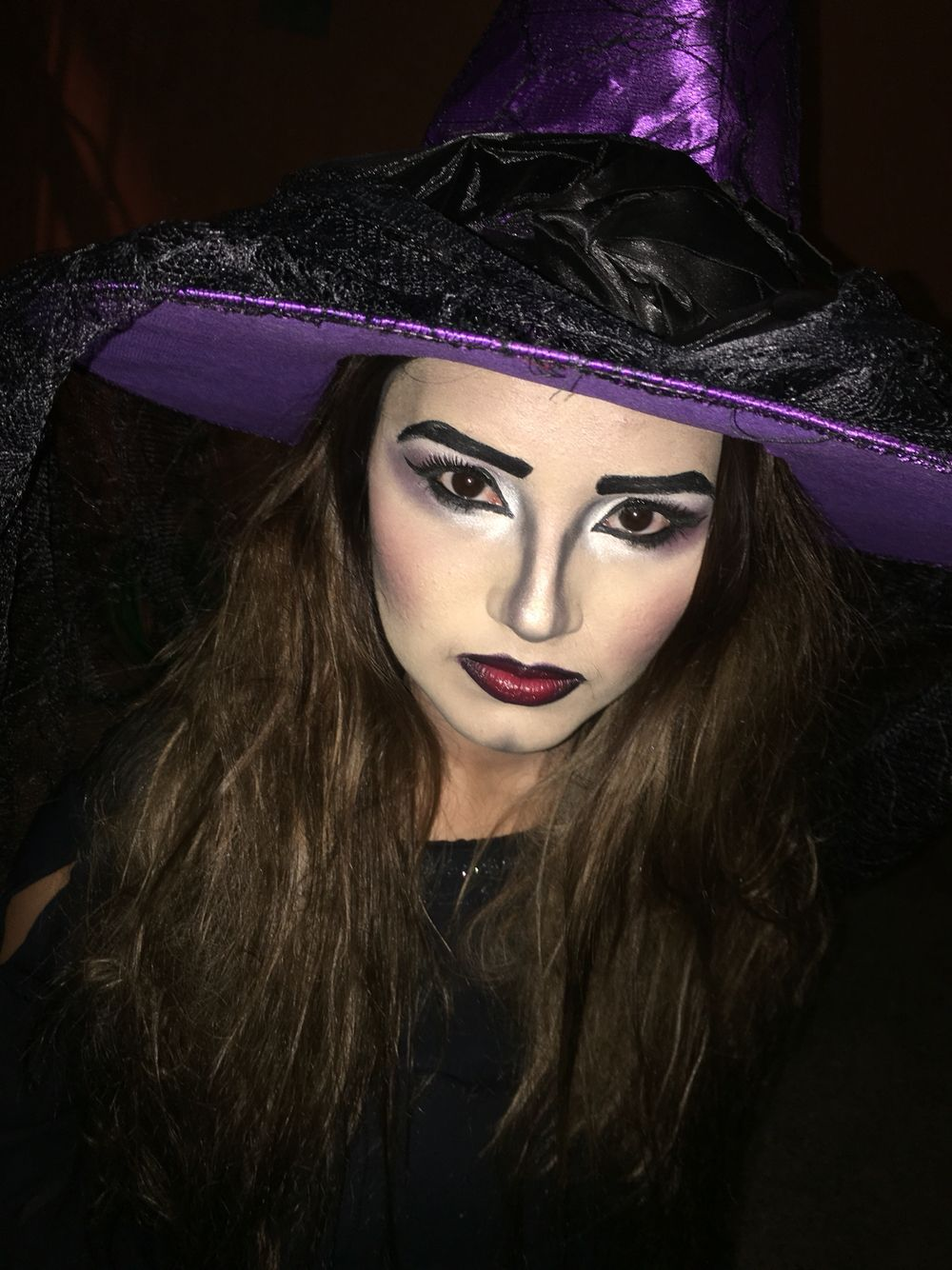 Disfraz Halloween 2015, maquillaje bruja bruja disfraz