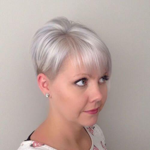 Pin on Silver and grayish hair