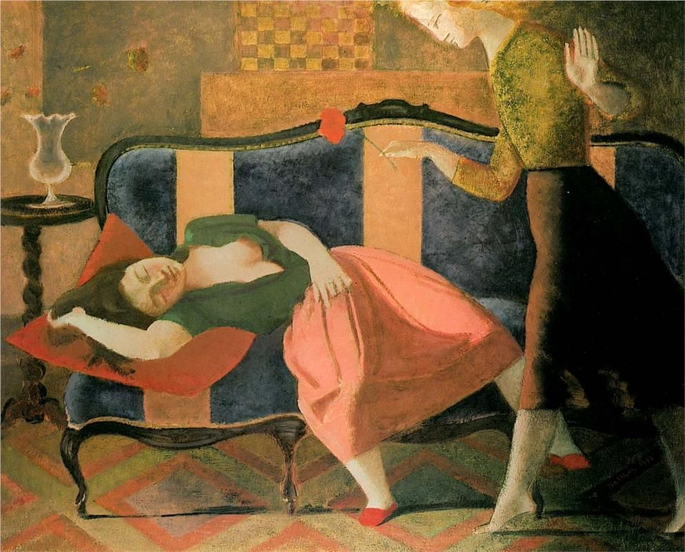 """The Dream"" - Balthus"