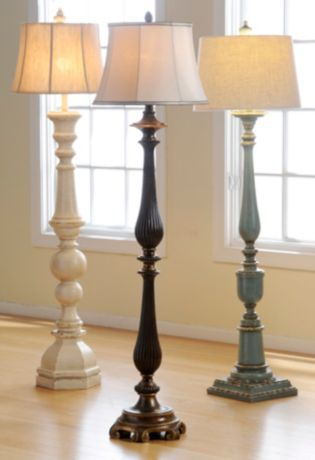 Coordinating Table Floor Lamps At Kirkland S Vintage Floor Lamp Wooden Floor Lamps Farmhouse Floor Lamps