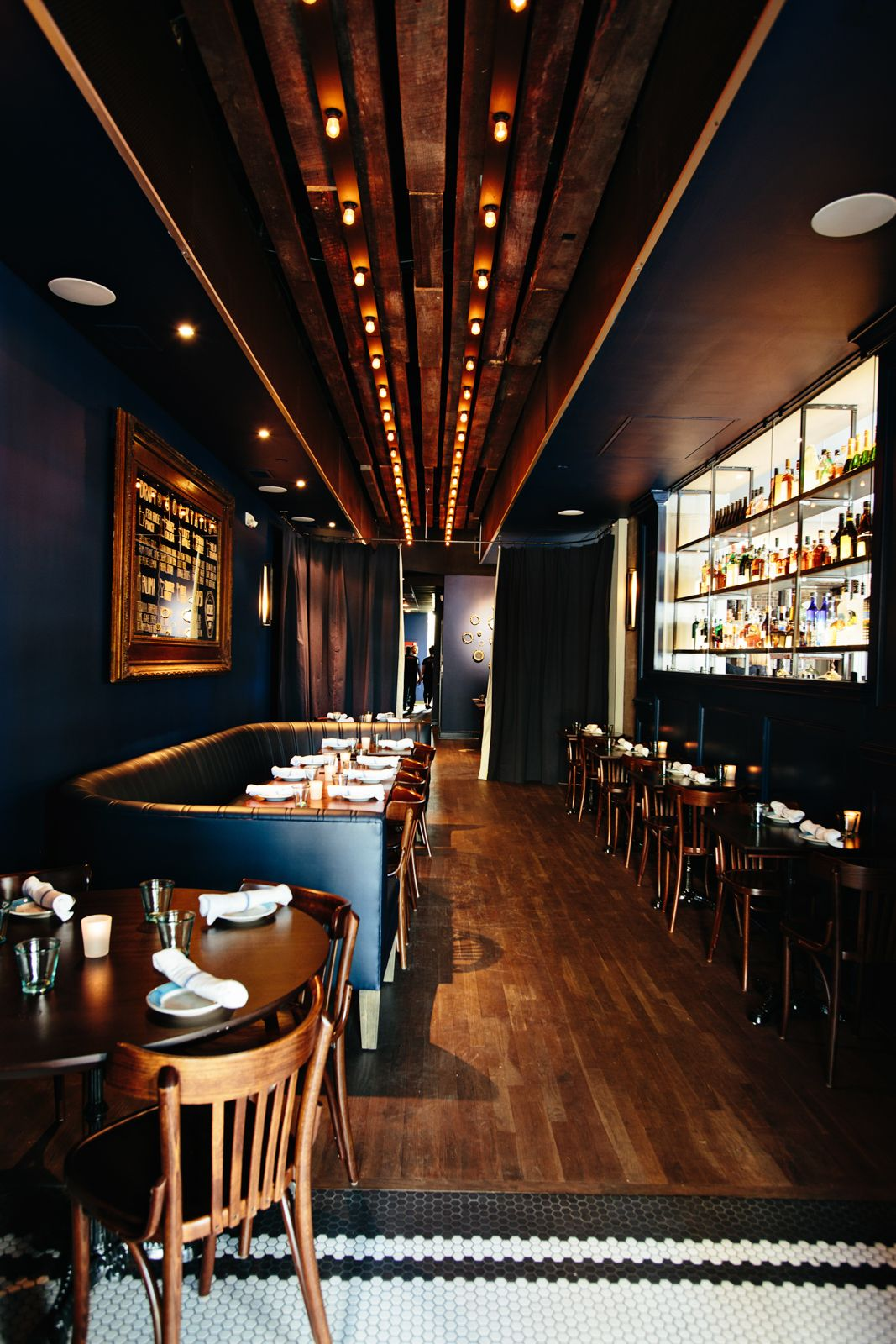 The Darling | Smith Hanes. restaurant lounge | BANQUETTES by ...
