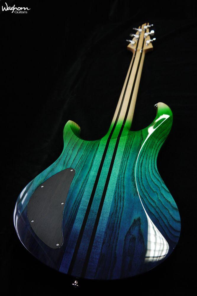 Le dos magnifique d\'une custom Waghorn Guitar. Retrouvez des cours ...