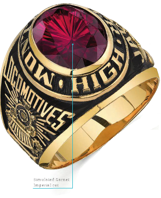 This Is A Beautiful Century Ring With An Imperial Cut Customize