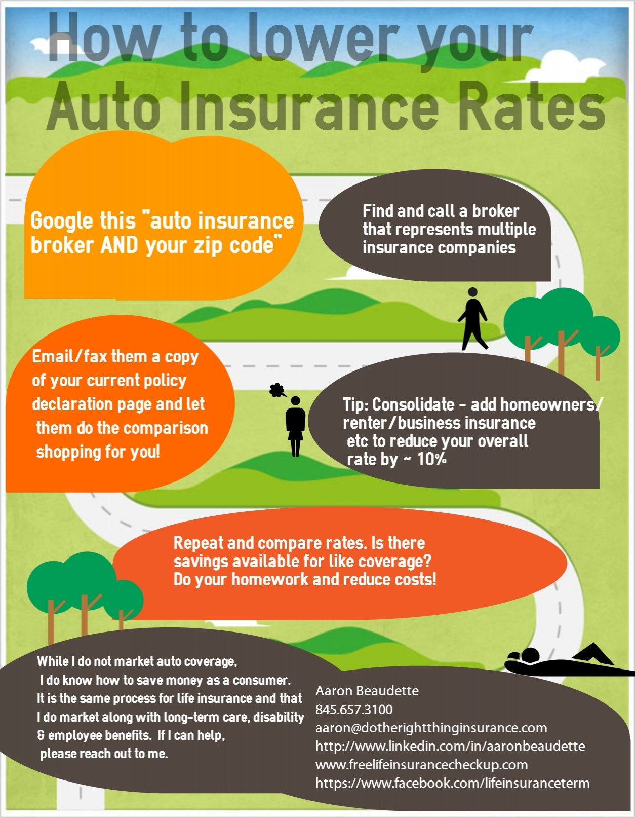 Consumer help how to reduce your auto insurance rates