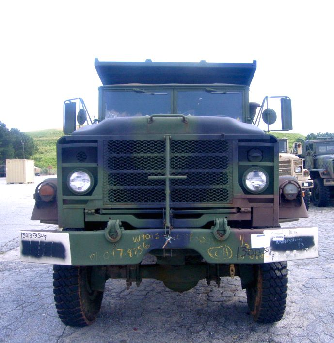 M929 5-ton Dump Truck on GovLiquidation.