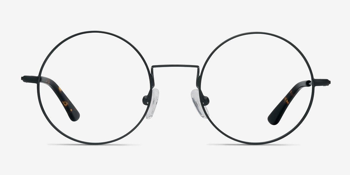 66c676a7a28 Someday Black Metal Eyeglasses from EyeBuyDirect. Come and discover these  quality glasses at an affordable