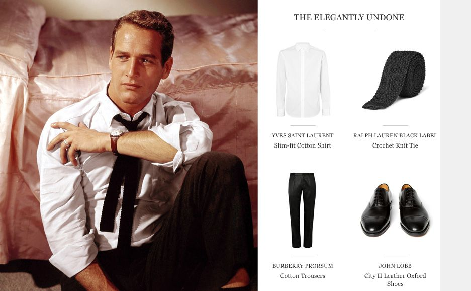 MR PAUL NEWMAN | STYLE ICON | The Journal|MR PORTER