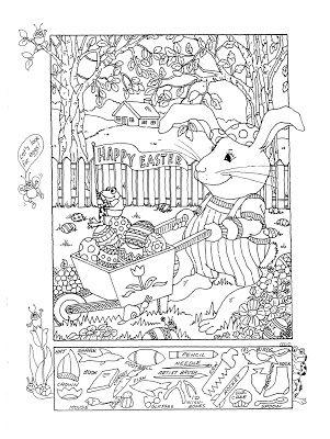 Hidden Pictures Publishing Hidden Picture Puzzle For Easter Hidden Picture Puzzles Hidden Pictures Hidden Pictures Printables
