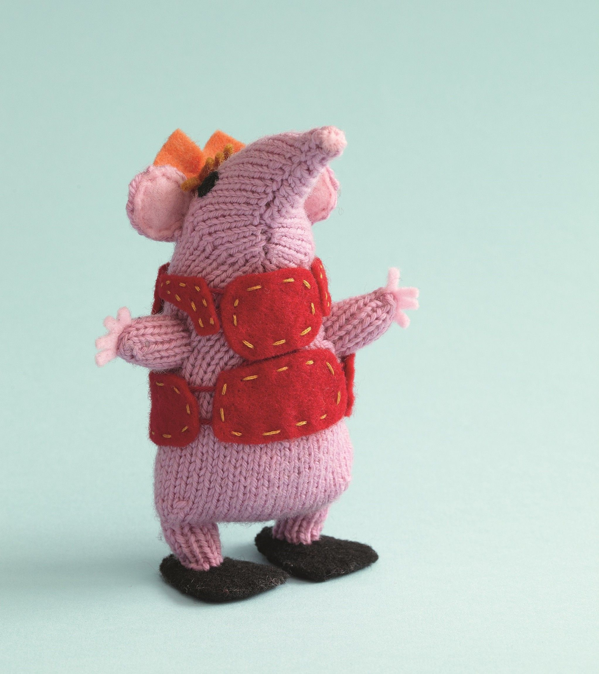 We\'ve got an original knitted Tiny Clanger pattern for you ...