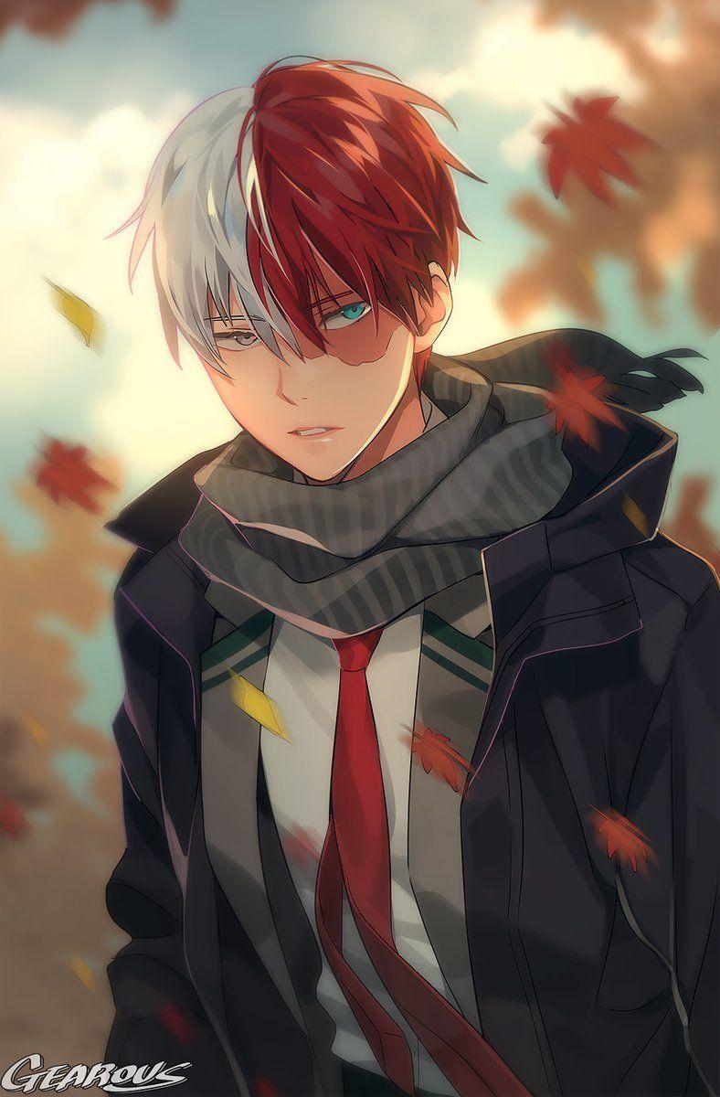 Todoroki Icon In 2020 Anime My Hero Anime Boyfriend