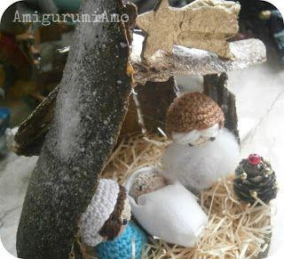 AmigurumiAmo: mini presepe amigurumi, little amigurumi nativity
