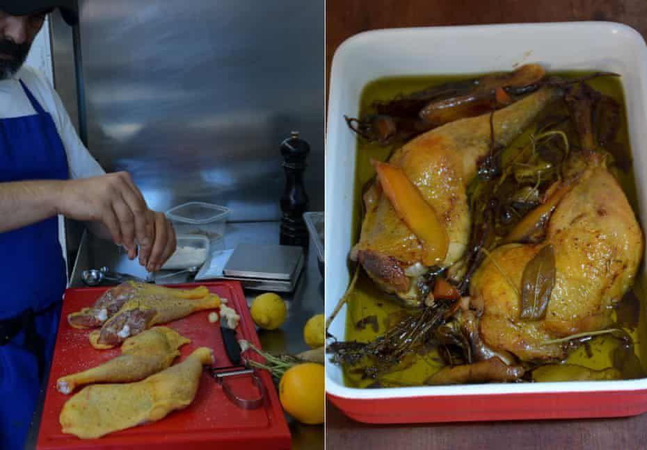 Rachel Roddy S Italian Confit Chicken Recipe A Kitchen In Rome Food The Guardian Chicken Recipes Recipes Confit Recipes